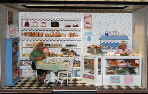 The Interior of Sweet Impressions Bake Shop.